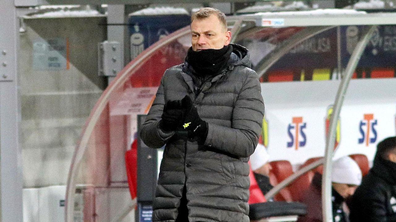 Ekstraklasa. Trener Jagiellonii Białystok Bogdan Zając przed meczem z Podbeskidziem (sport.tvp.pl)