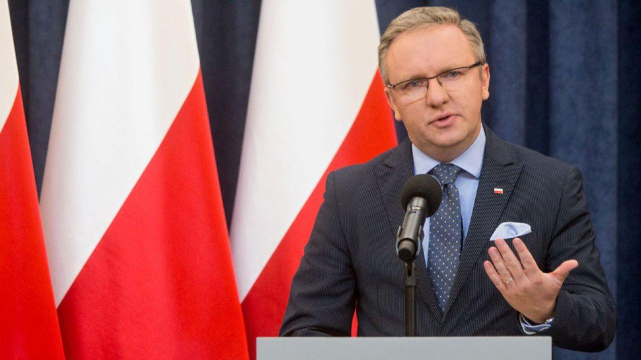 Szef Kancelarii Prezydenta RP Krzysztof Szczerski (fot. KPRP/Michał Biedrzycki)