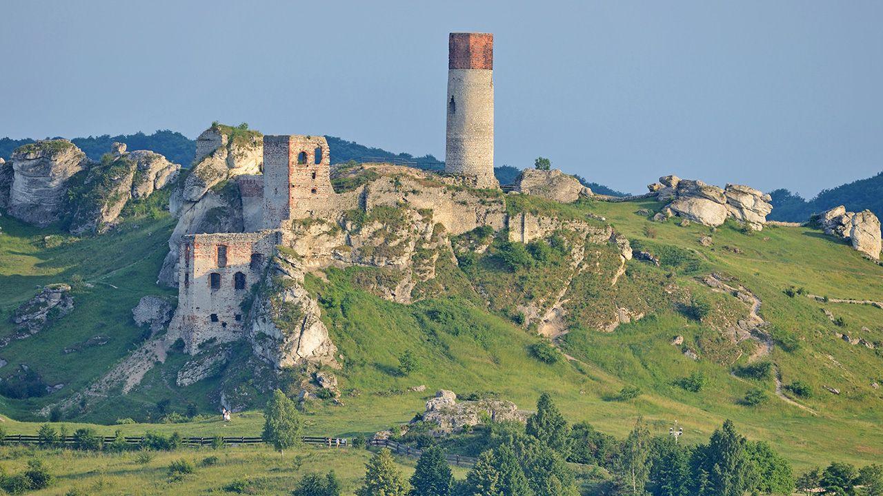 Zamek w Olsztynie popadł w ruinę jeszcze przed potopem szwedzkim (fot. Shutterstock/whitelook)