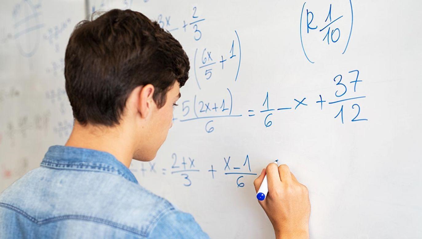 Matematyka nazywana jest królową nauk (fot. Shutterstock/Rido)