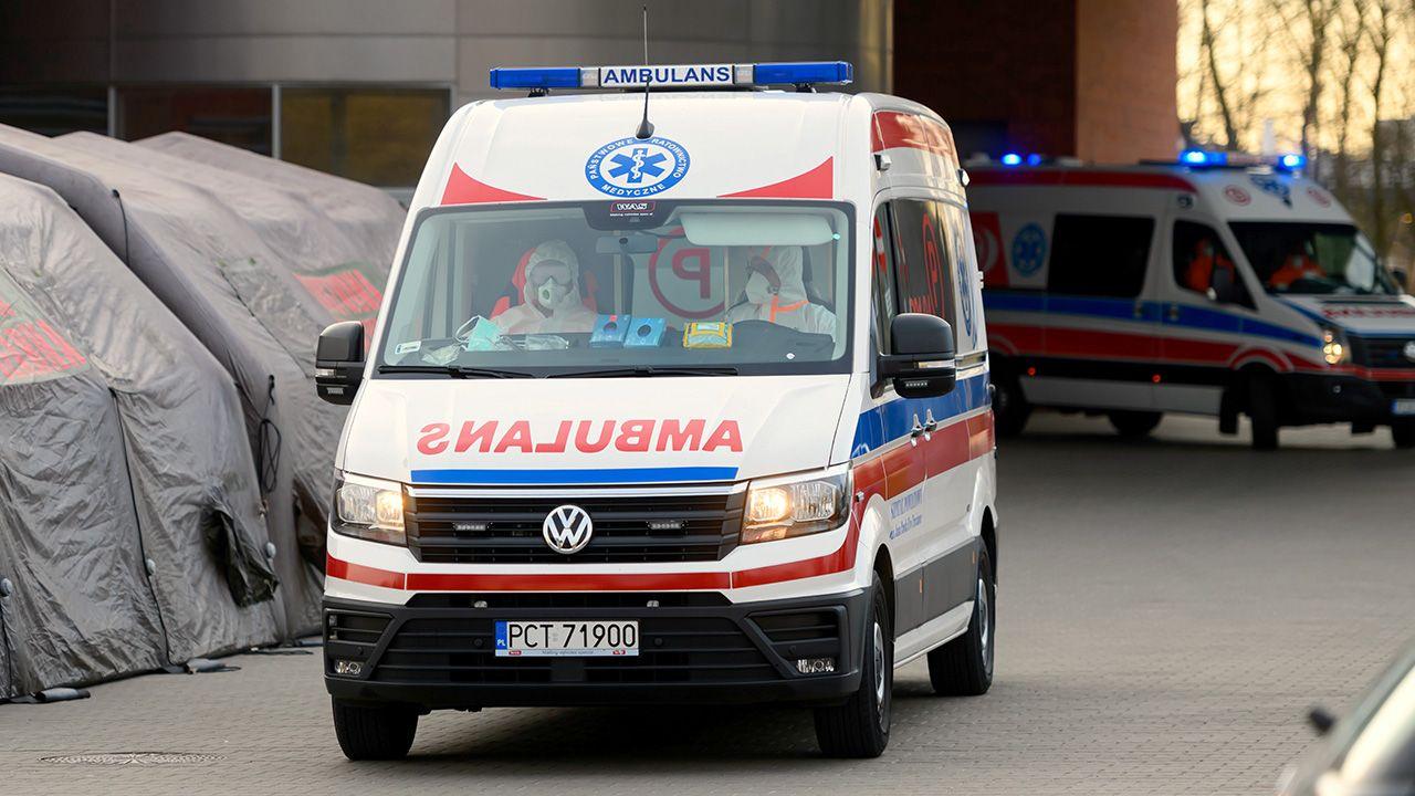 Kobieta była przewlekle chora (fot. PAP/Jakub Kaczmarczyk)