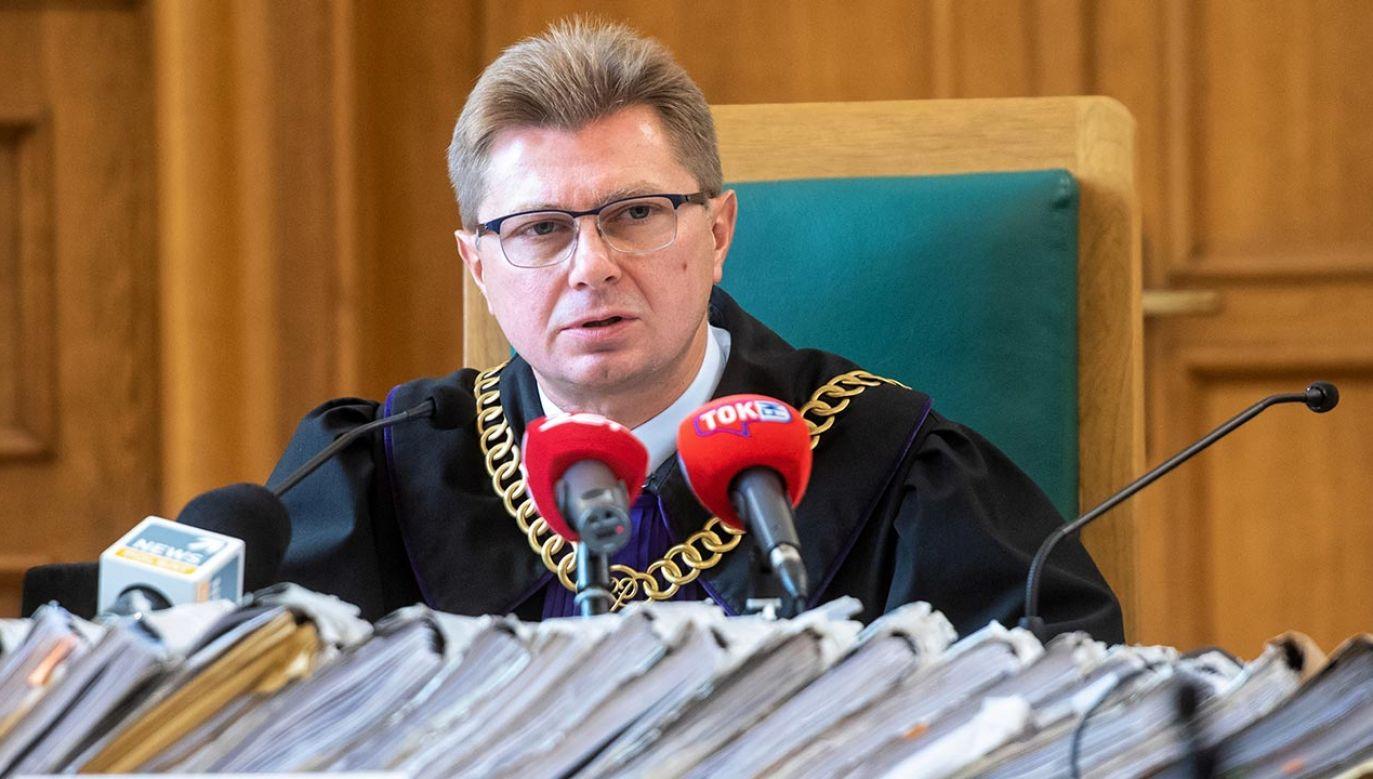 """Sędzia Tomasz Krawczyk jest członkiem stowarzyszenia """"Iustitia"""" (fot.  PAP/Grzegorz Michałowski)"""