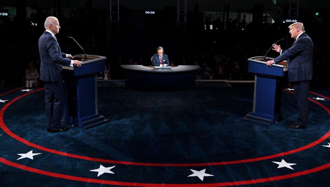 Kiedy kolejna debata prezydencka w USA? (fot. Olivier Douliery/Pool via REUTERS)