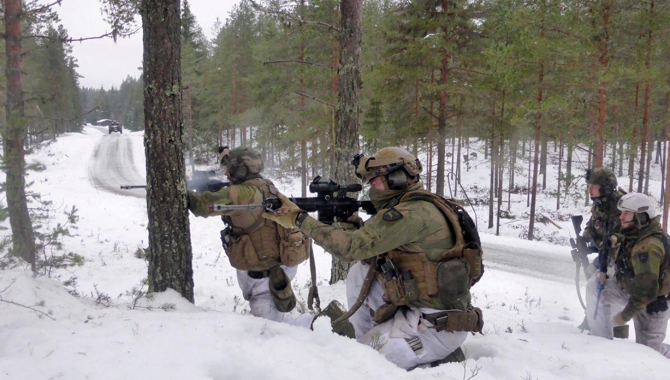 Resort obrony Norwegii chce zwiększyć liczebność wojsk w Finnmark do 3 tys. (fot. Reuters/Gwladys Fouche)