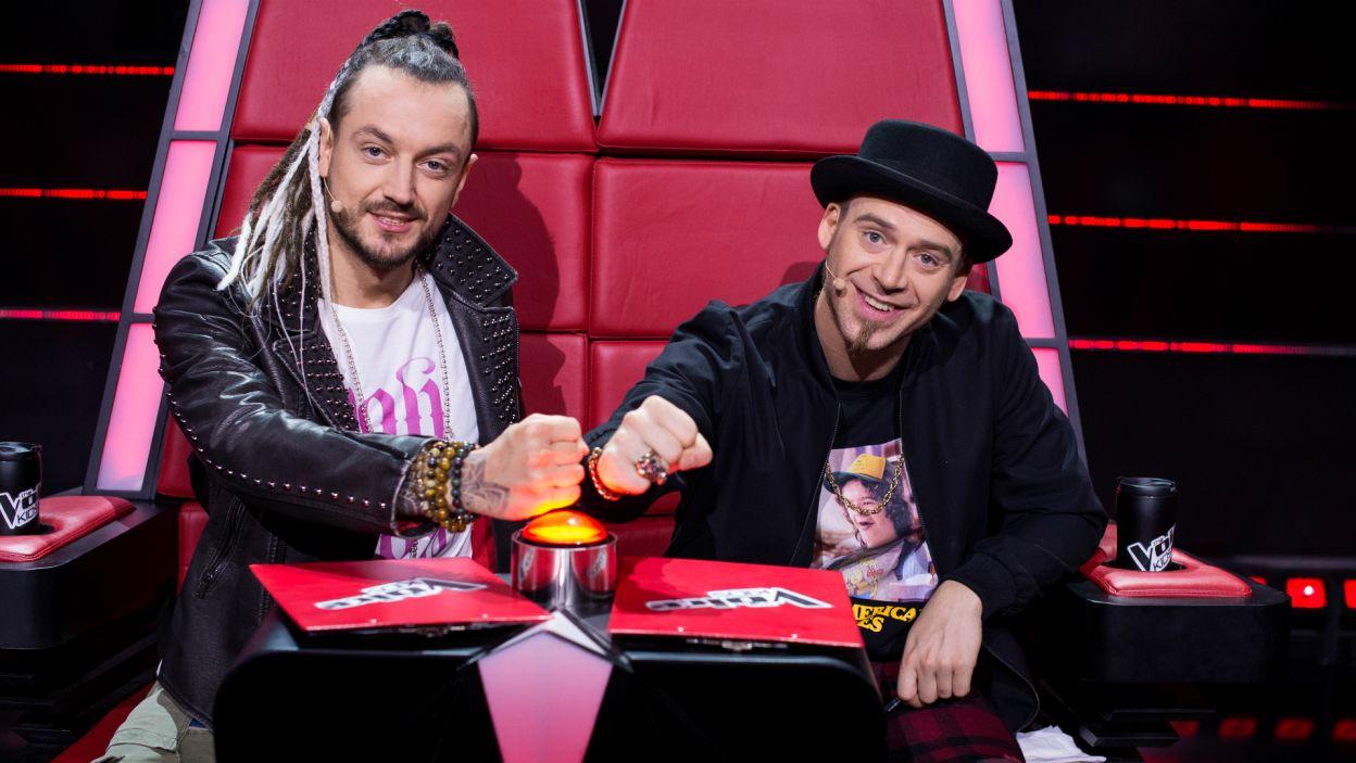 Tym razem rywalizowali młodzi wokaliści z drużyny Barona i Tomsona (fot. TVP)