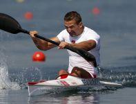 Piotr Siemionowski był dopiero 6. w wyścigu półfinałowym. Wystąpi tylko w finale B (fot. Getty Images)