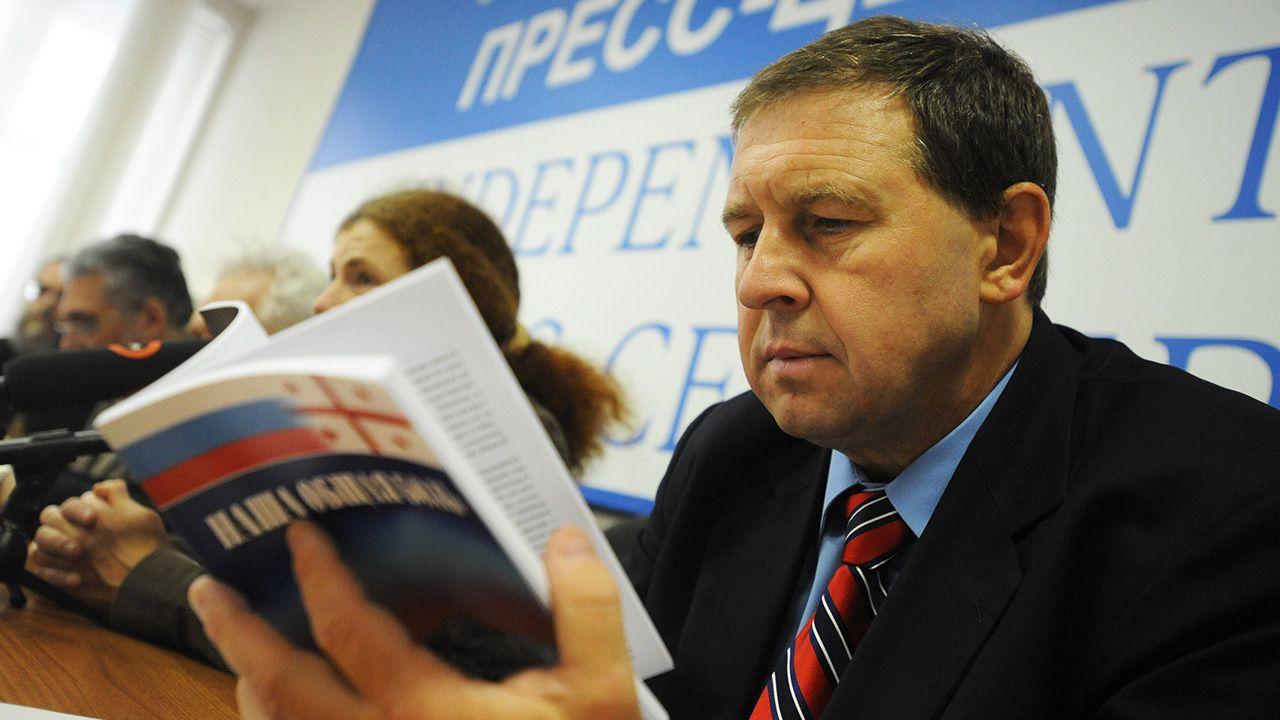 Andriej Iłłarionow określił współczesną Rosję jako państwo agresywne, które wszczyna konflikty zbrojne z sąsiadami (fot. arch. PAP/ITAR-TASS / Alexei Filippov)