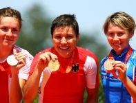 Medalistki wyścigu kobiet (fot. Getty Images)