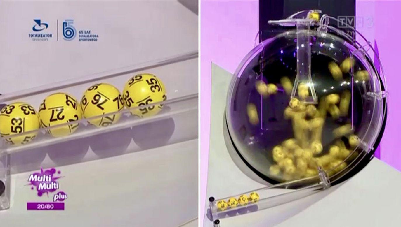 Wyniki losowania Lotto w niedzielę, 1 sierpnia (fot. TVP Info)