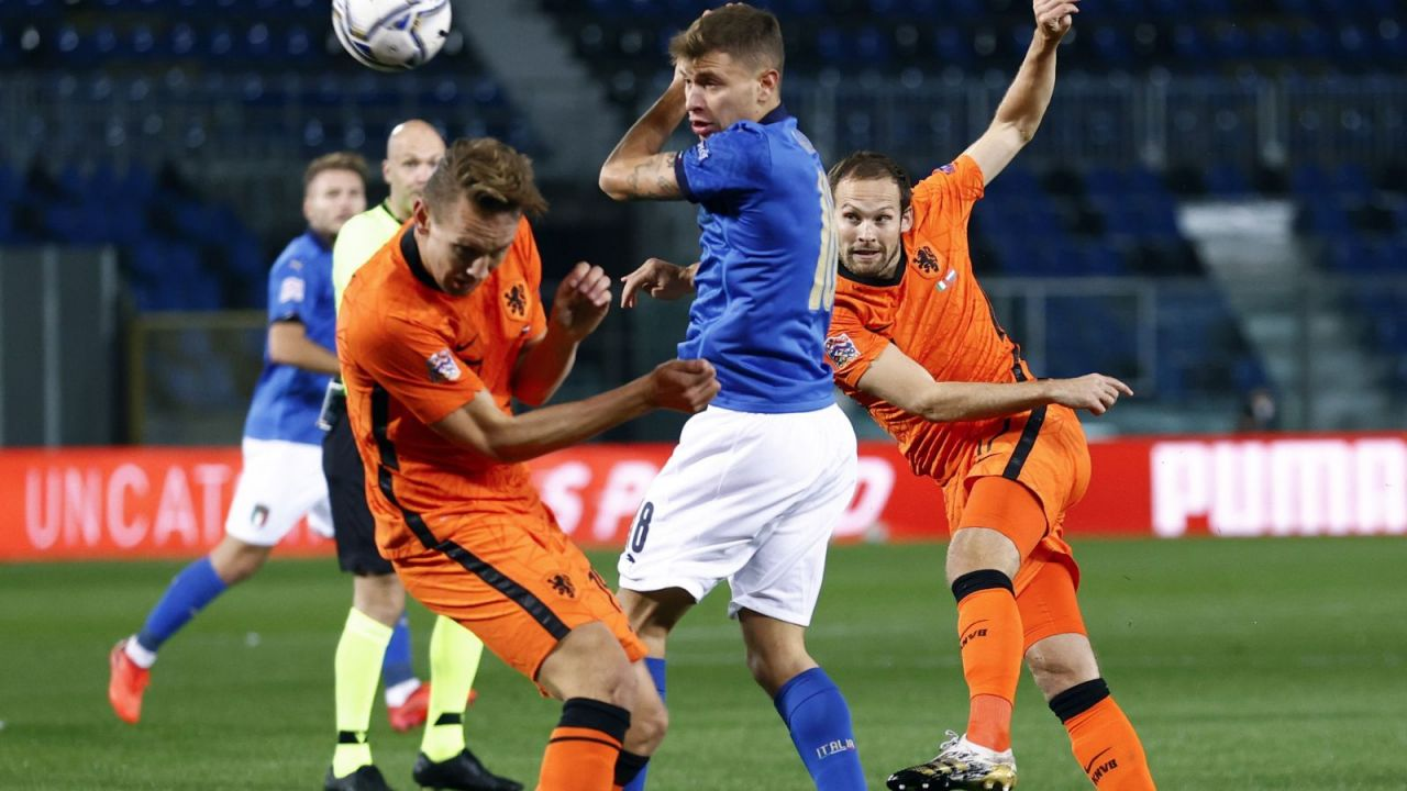 Liga Narodów. mecz Włochy – Holandia 1:1. Relacja (sport.tvp.pl)