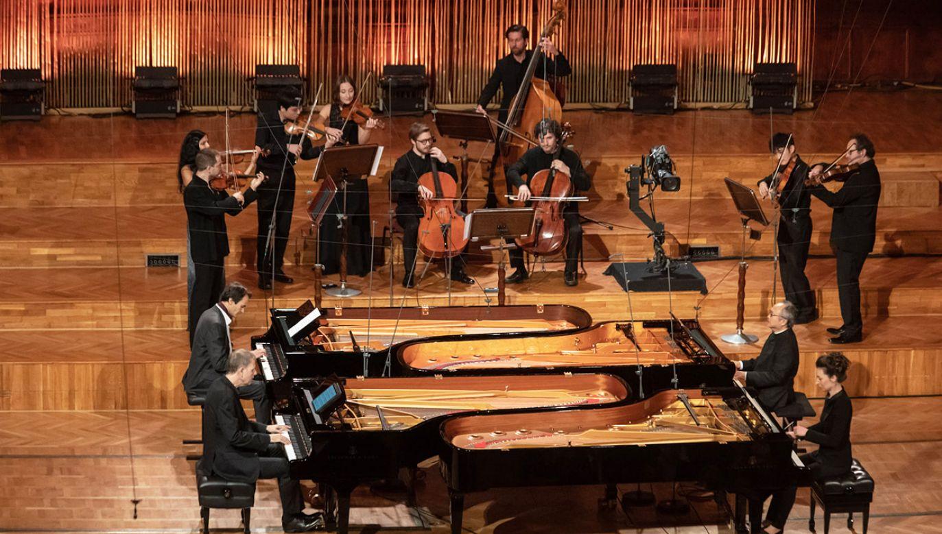 Podczas koncertu inauguracyjnego 2 października na scenie Filharmonii Narodowej w Warszawie wystąpiła Xuanyi Mao (fot. Wojciech Grzędziński/NIFC)