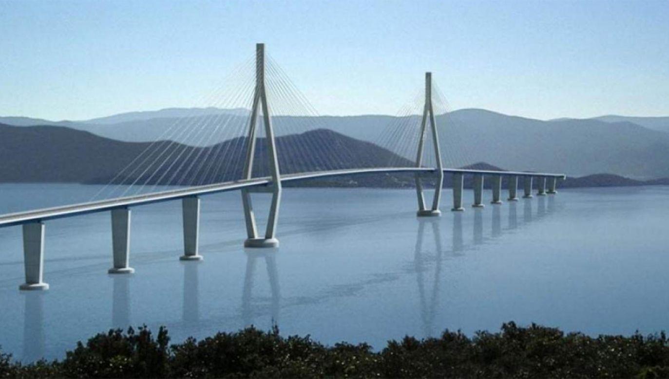 Most Pelješki  ma być gotowy w 2022 roku (mat. pras.)