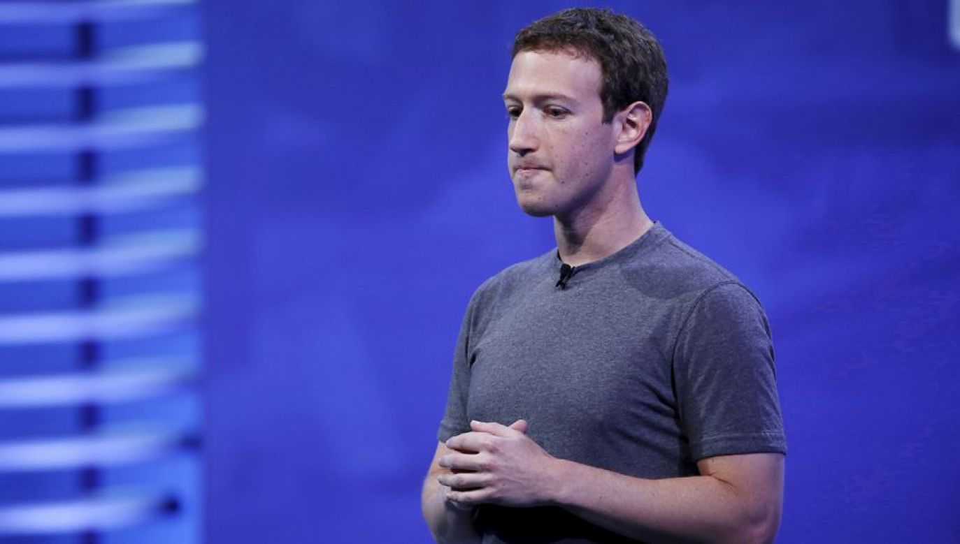 Prezes Facebooka Mark Zuckerberg (fot. REUTERS/Stephen Lam)
