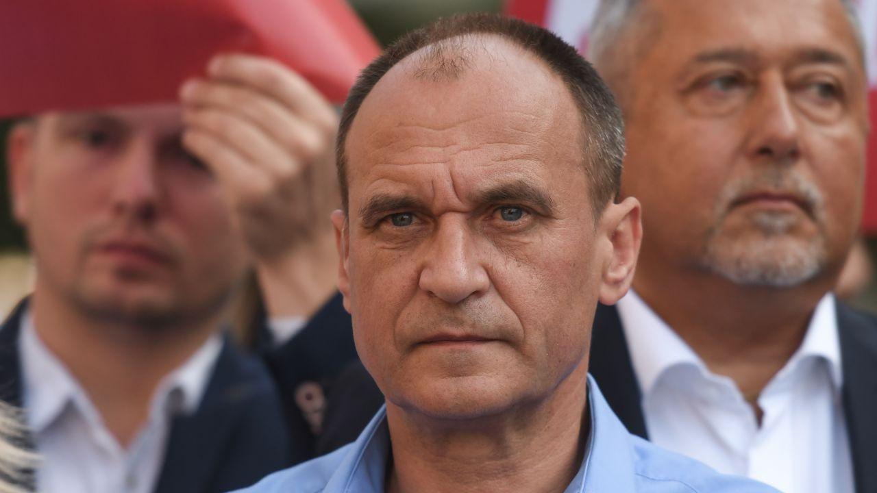 Paweł Kukiz, lider Kukiz'15 (fot. Artur Widak/NurPhoto via Getty Images)