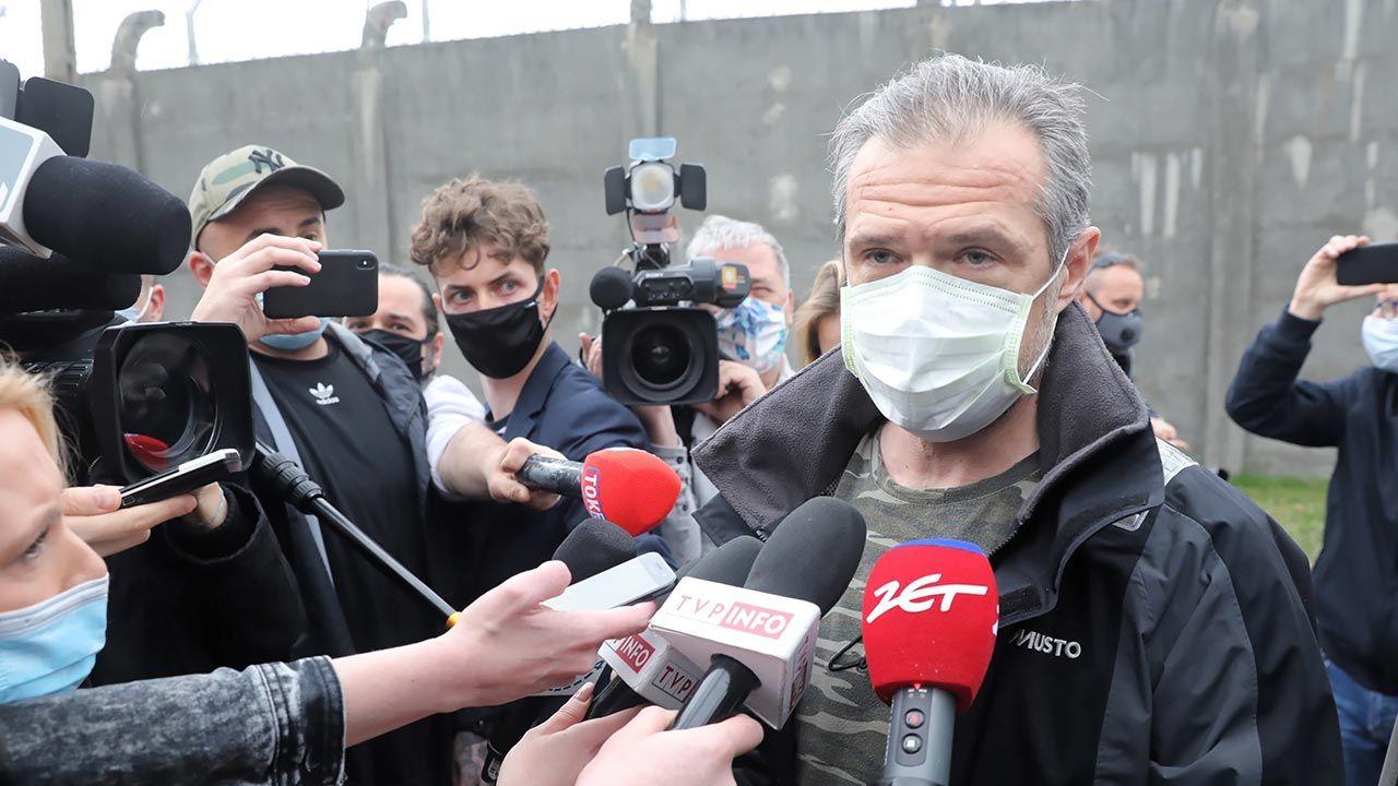 Sławomir Nowak opuścił areszt (fot. PAP/Tomasz Gzell)