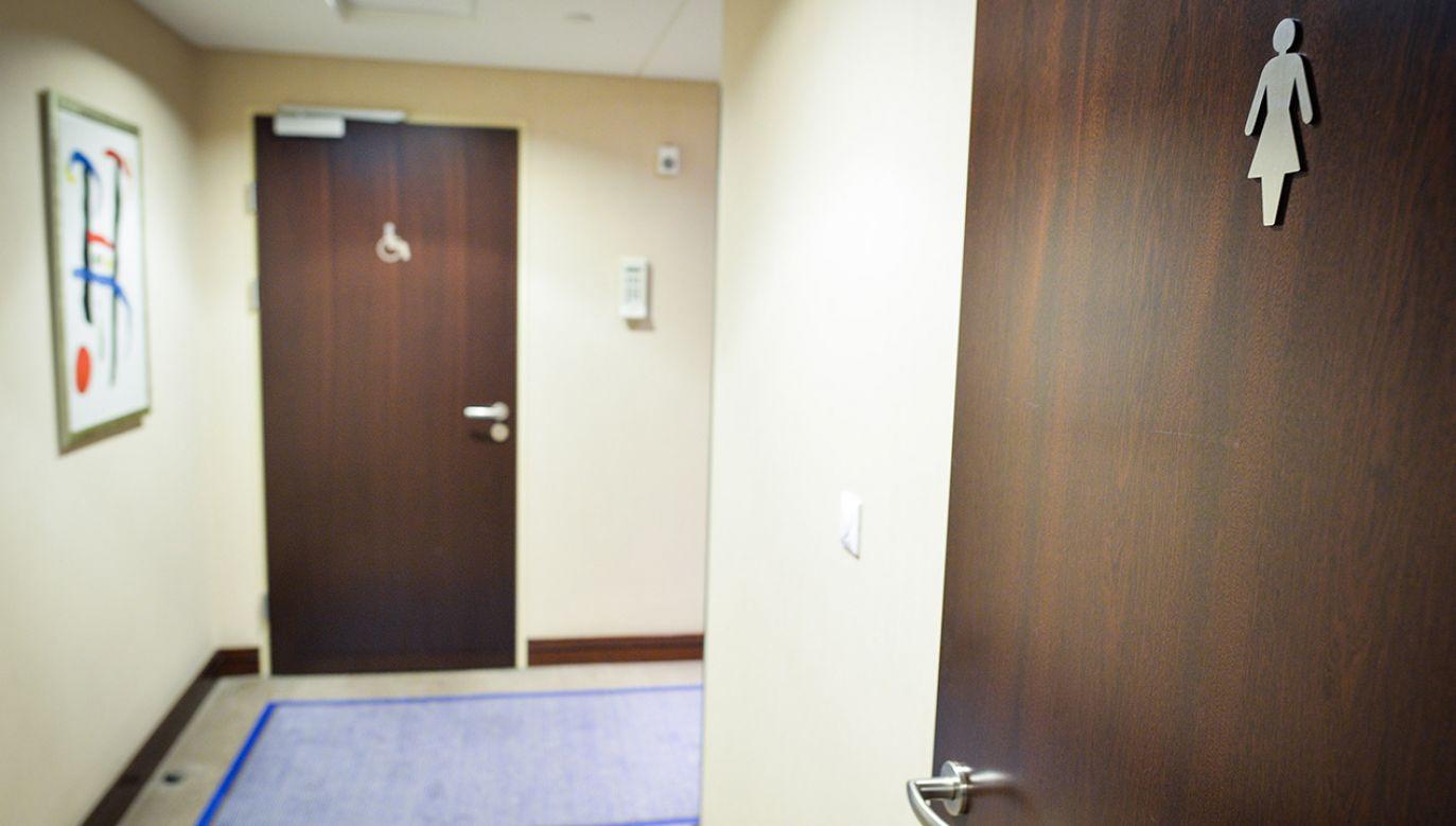 Mężczyzna nie rozpowszechniał nagrań z toalety, były one wyłącznie w jego komputerze (fot. arch. PAP/Jacek Turczyk)