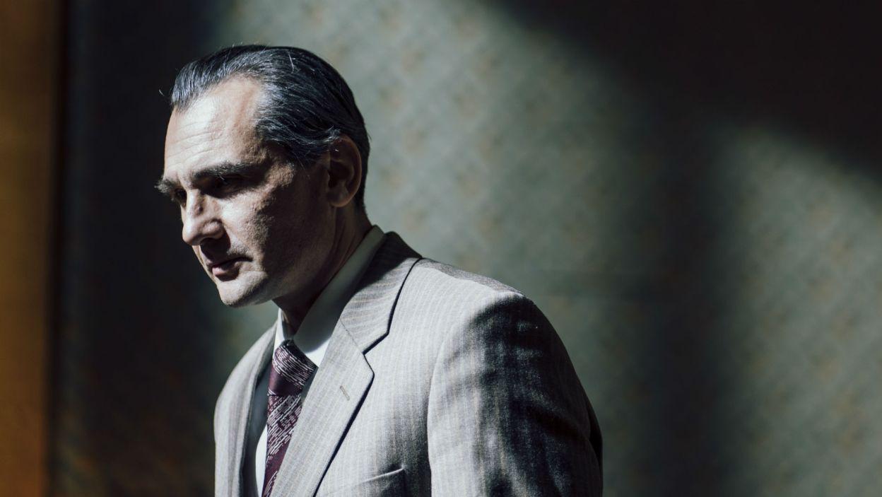 Hubert Zduniak wykreował postać Sekretarza Stanu (fot. Stanisław Loba)