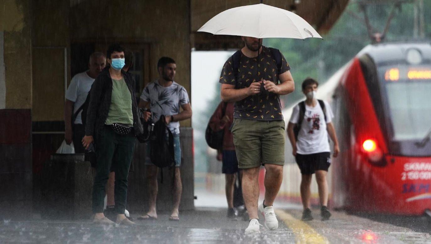 IMGW ostrzega przed nawałnicami (fot. Forum/Mateusz Wlodarczyk)