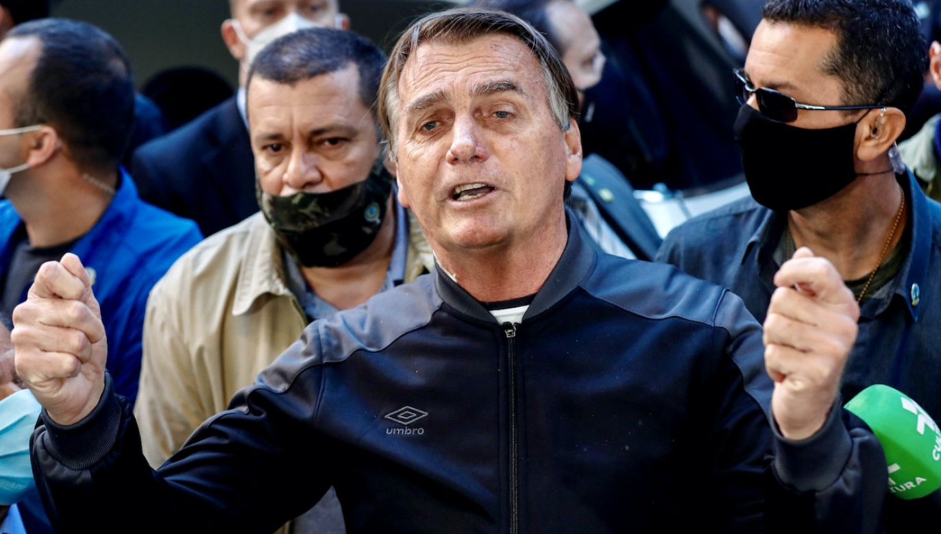Jair Bolsonaro  (fot. PAP/EPA/S.Moreira)