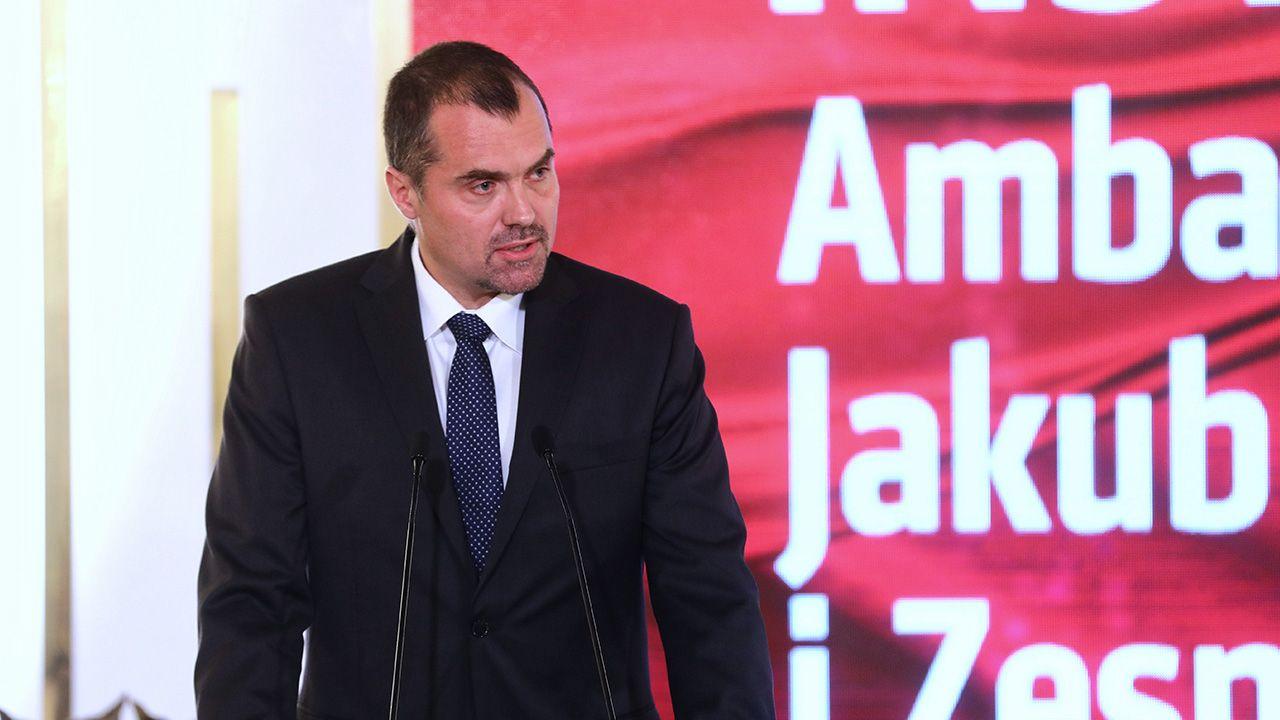 Ambasador RP w Szwajcarii, Jakub Kumoch (fot. arch. PAP/Rafał Guz)