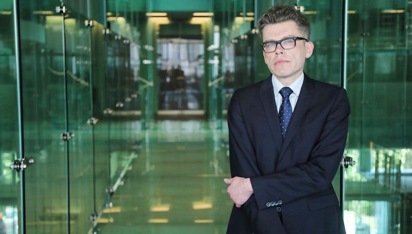 Sędzia Igor Tuleya (fot. PAP/Wojciech Olkuśnik)