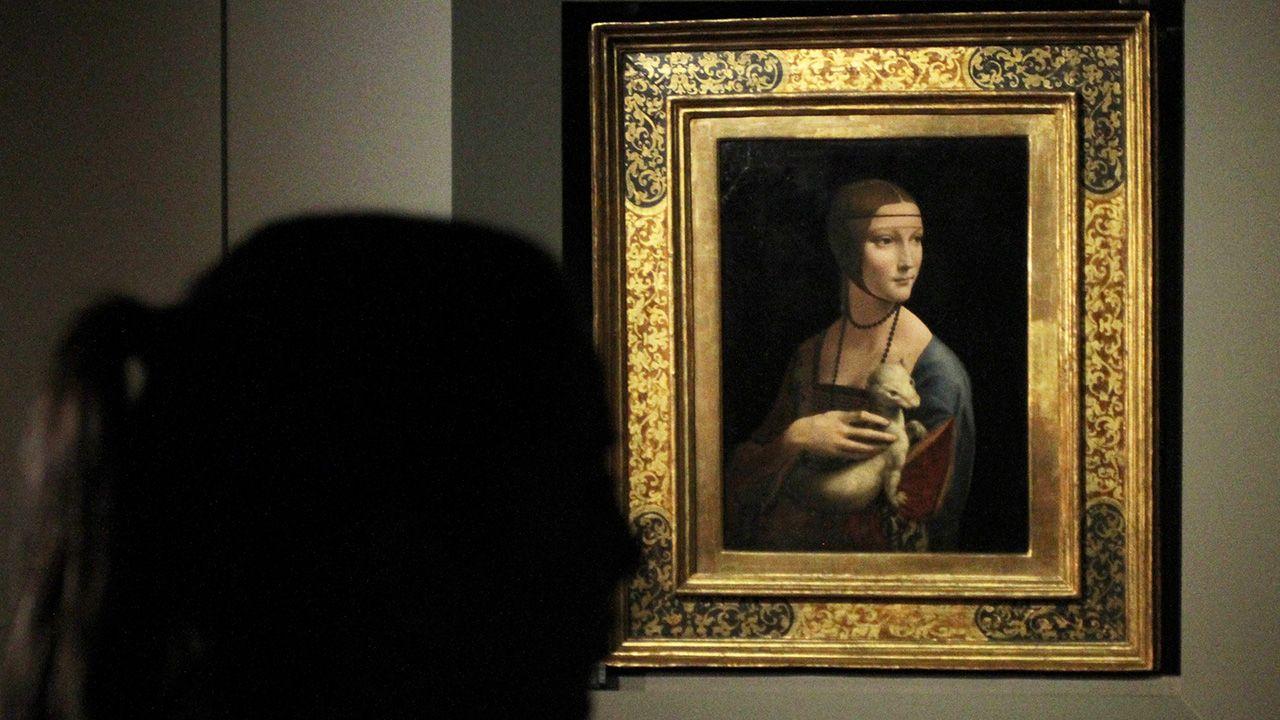 Umieszczenie obrazu Leonarda da Vinci na monecie to wspaniała promocja dla Muzeum Narodowego w Krakowie (fot.  arch. PAP/Jacek Bednarczyk)