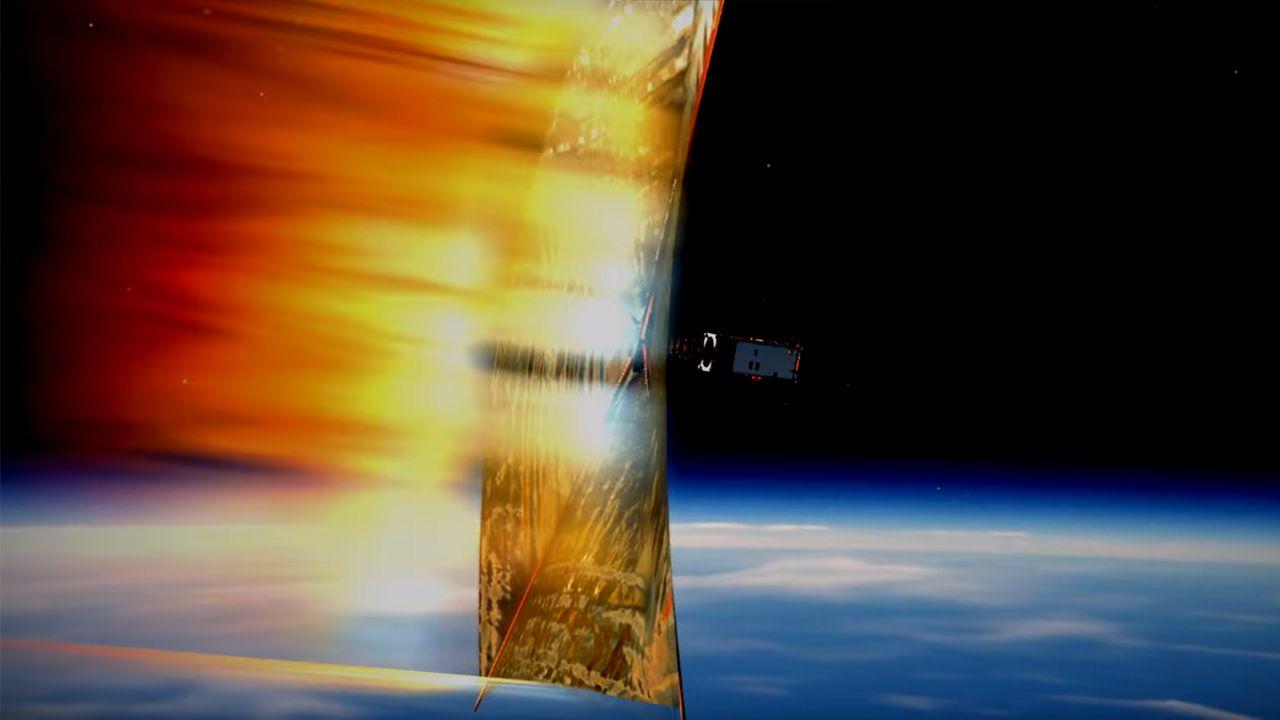 Satelita zostanie wystrzelony na orbitę 19 listopada 2018 roku z pokładu rakiety Falcon 9 (fot. YT/Studenckie Koło Astronautyczne PW)