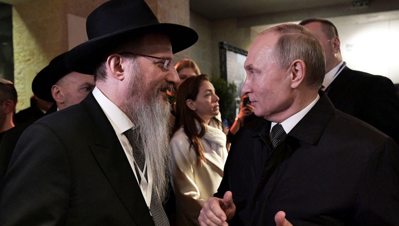 Półtora miliona obywateli Izraela, którzy są rosyjskimi Żydami zostało wychowanych w duchu sowieckiej nienawiści do Polski – przypomina historyk (fot. Reuters/Sputnik Photo Agency)