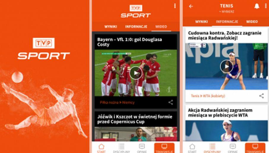 c2db93f869041f Aplikacja TVP Sport (fot. sport.tvp.pl)