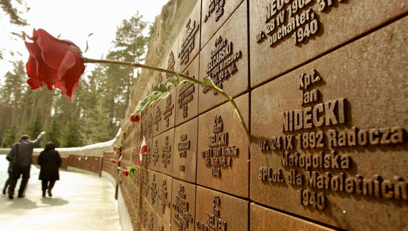 Odkrycie miejsca zbrodni w Katyniu w 1943 r. pozwoliło na poznanie wielu szczegółów masakry (fot. REUTERS/Vasily Fedosenko)