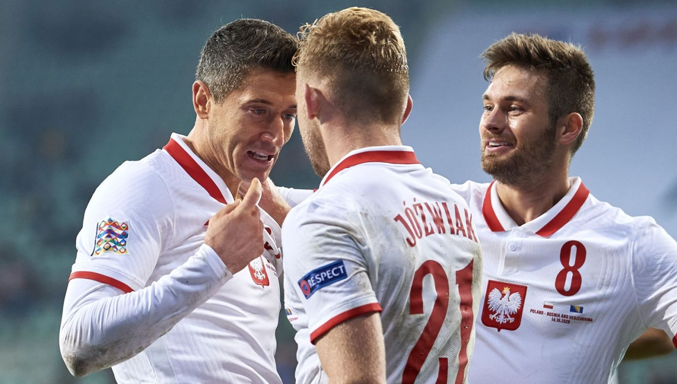 Piłkarze reprezentacji Polski (fot. Getty Images)