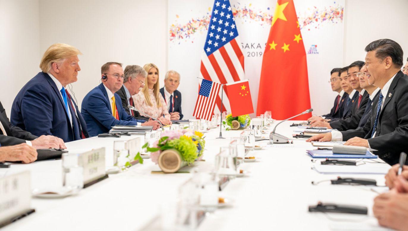 Donald Trump i Xi Jinping rywalizują o strefy wpływów (fot. WhiteHouse.gov)