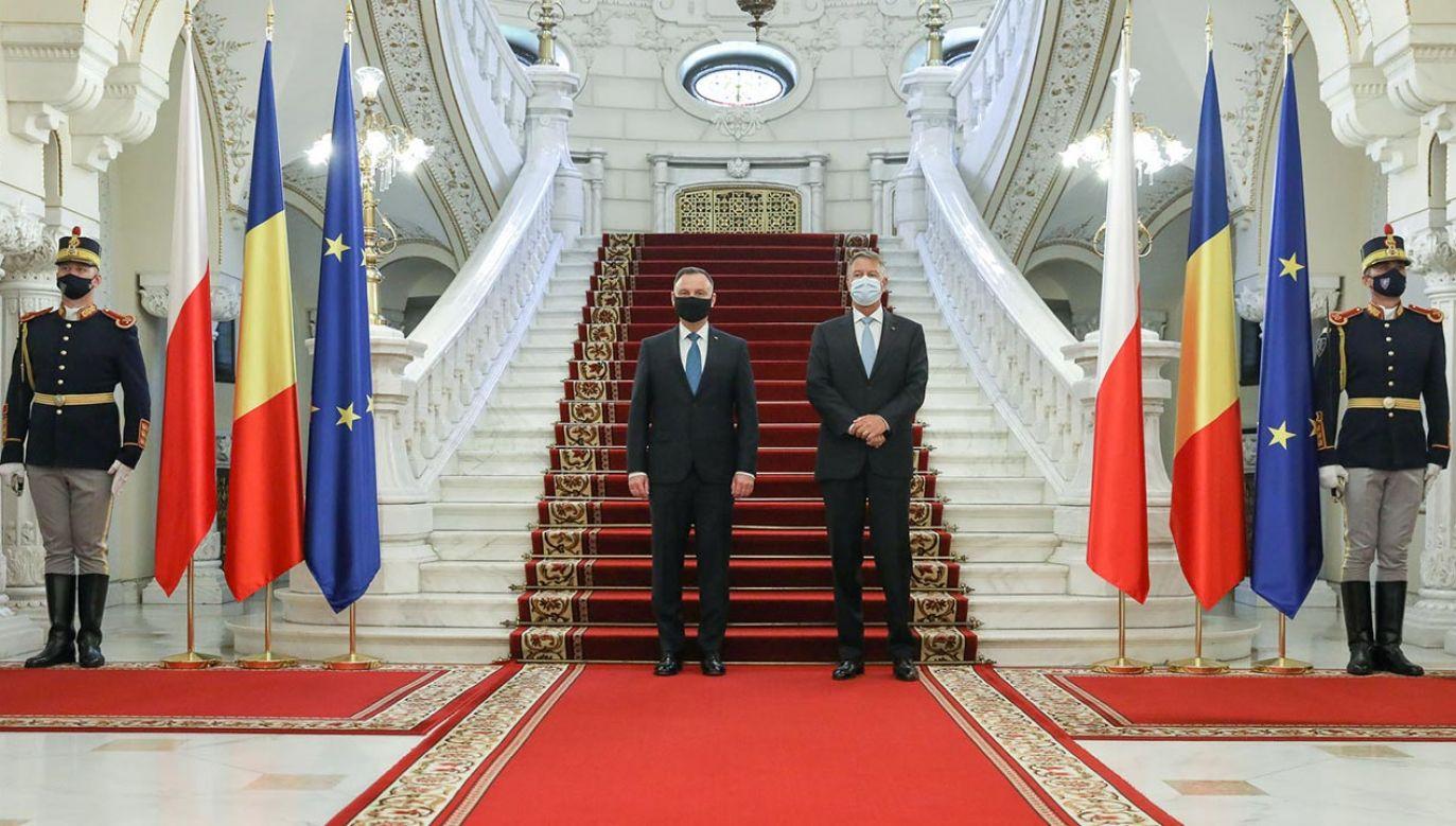 Wizyta prezydenta w Rumunii (fot. Igor Smirnow/KPRP)