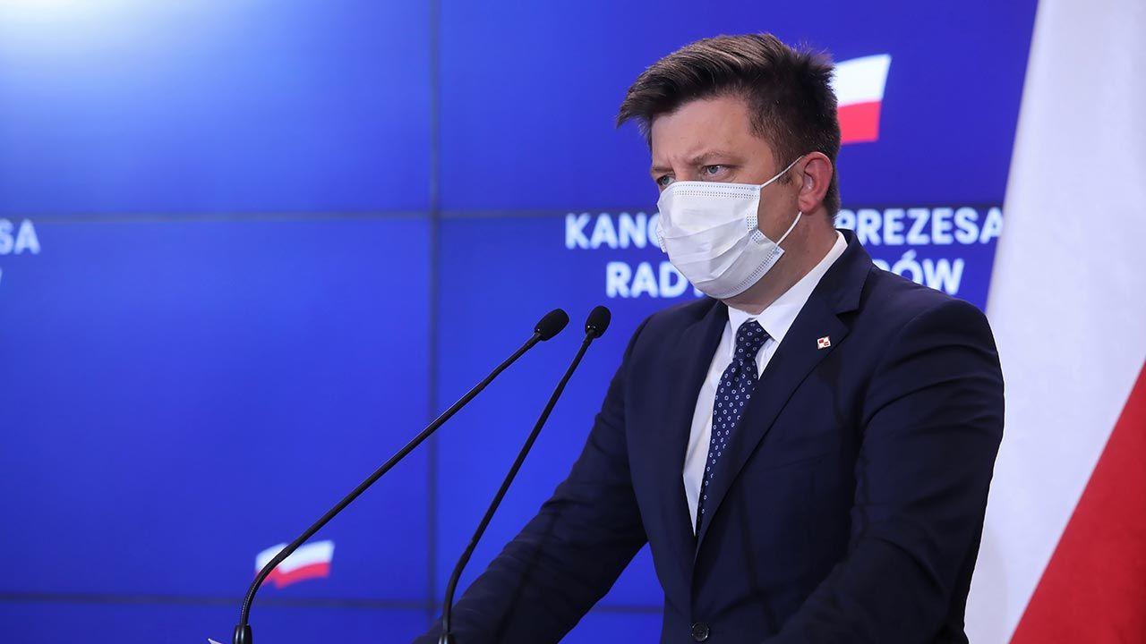 """""""To jest jedyna gwarancja spokojnej i stabilnej przyszłości Wspólnoty"""" (fot. PAP/Wojciech Olkuśnik)"""