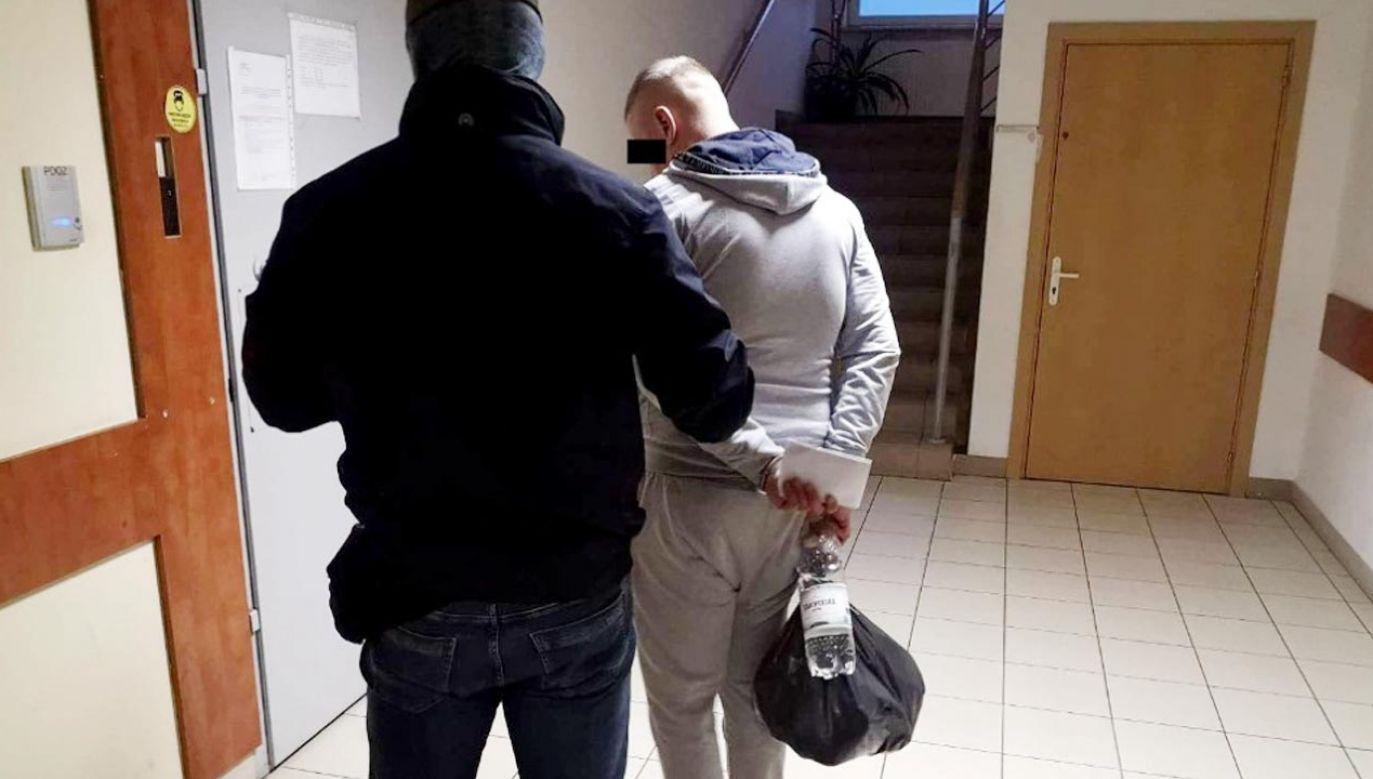 Mężczyzna okradłwłasną babcię (fot. Policja)