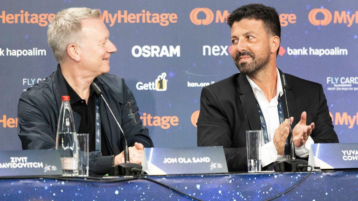"""Oficjalnym hasłem jest z kolei """"Share the Joy"""", bo – jak podkreślili przedstawiciele EBU – warto """"dzielić się radością"""" (fot. EBU/Andres Putting)"""