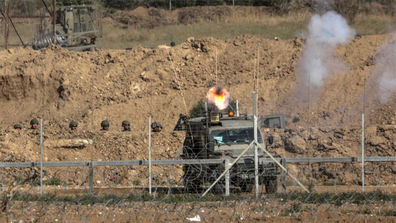 Izraelskie wojsko zabiło od końca marca niemal stu Palestyńczyków (fot. PAP/EPA/MOHAMMED SABER)