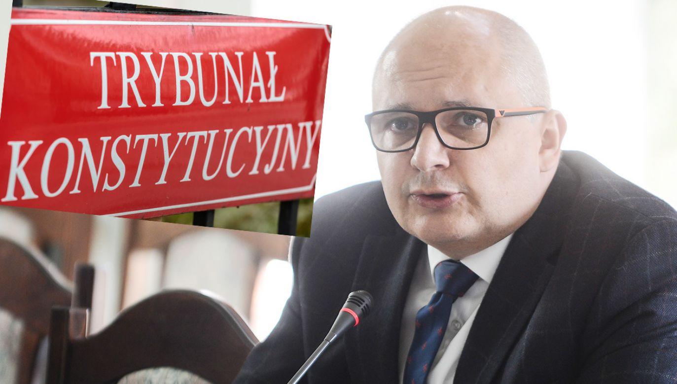 Postanowienie Trybunału Konstytucyjnego (fot. PAP/Jakub Kamiński; Shutterstock)