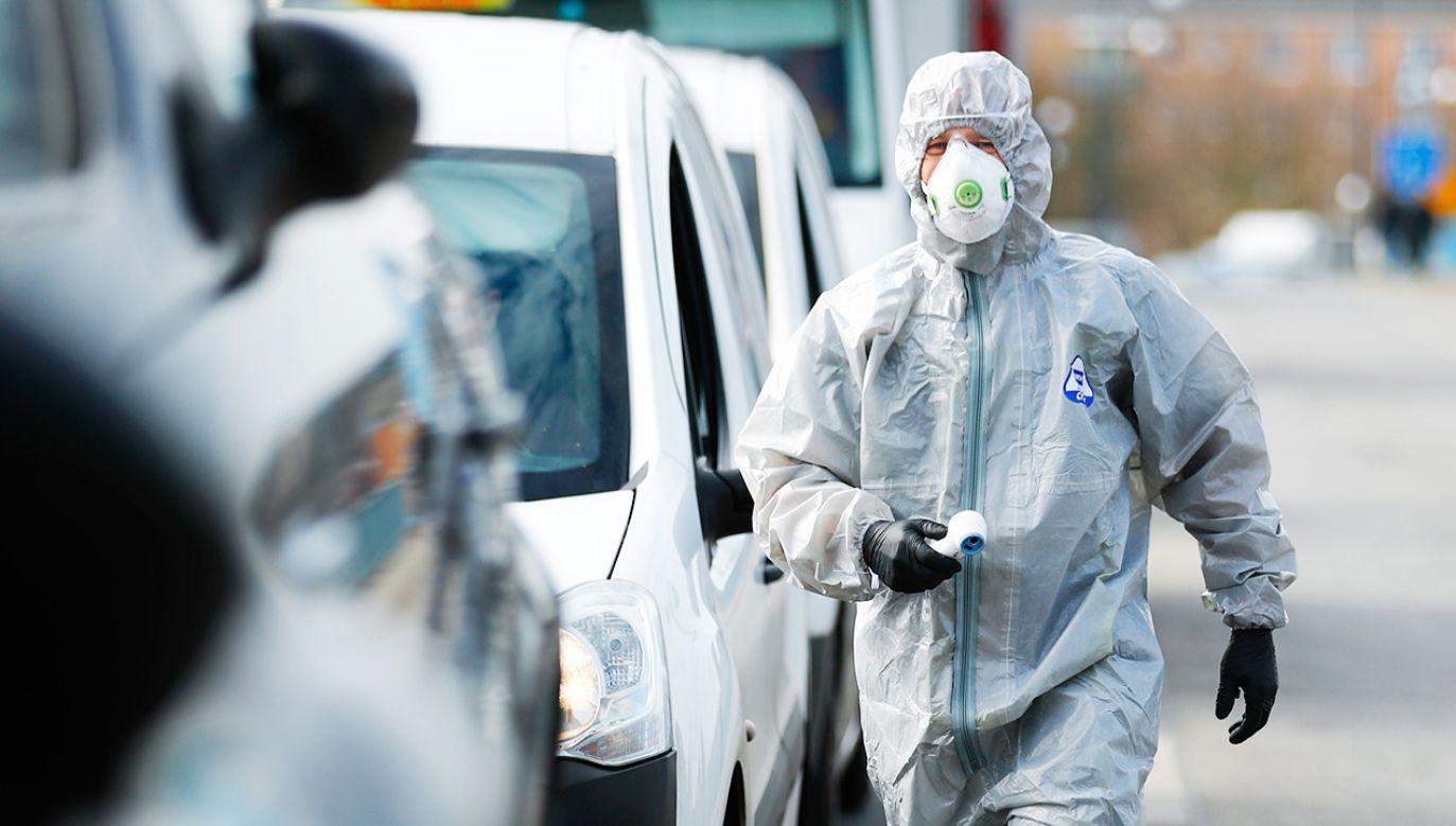 W Polsce jest już ponad 2,1 tys. zakażonych koronawirusem (fot. REUTERS/Hannibal Hanschke)