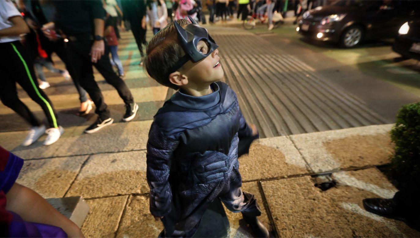 Batman jest jednym z najpopularniejszych bohaterów komiksowych na świecie (fot. PAP/EPA/Sashenka Gutierrez)