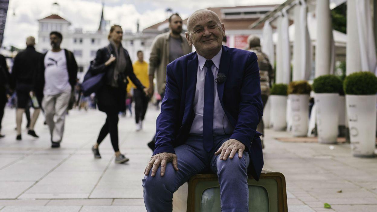 Nad programem imprezy czuwa Janusz Kukuła, dyrektor artystyczny festiwalu (fot. S. Loba/TVP)