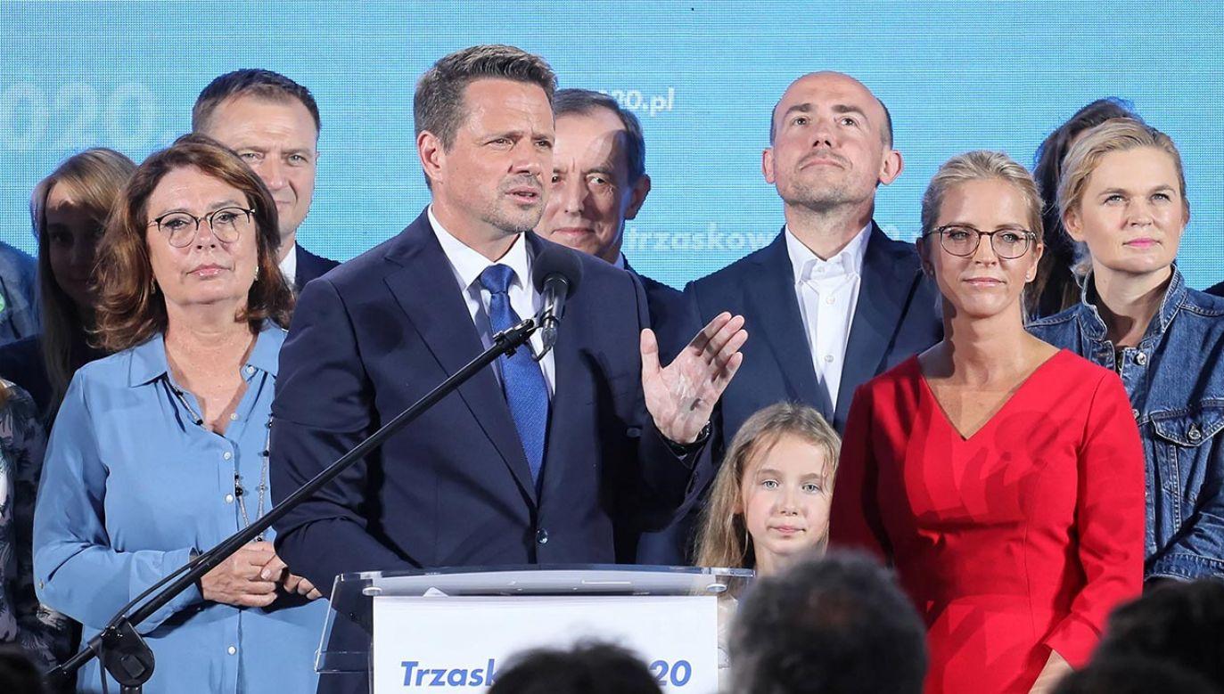Rafał Trzaskowski zapowiedział bezpartyjną kancelarię (fot. PAP/Paweł Supernak)