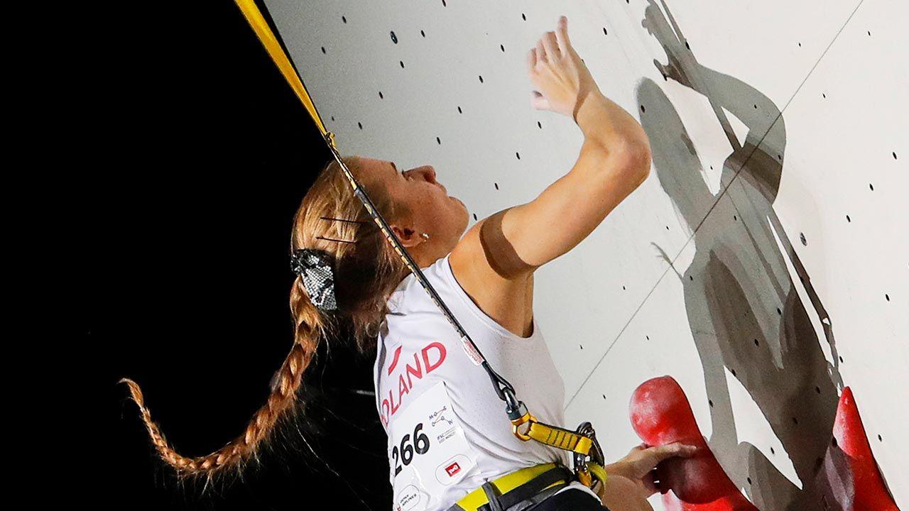 Mistrzostwie świata we wspinacze sportowej (fot. PAP/EPA/SERGEI ILNITSKY)