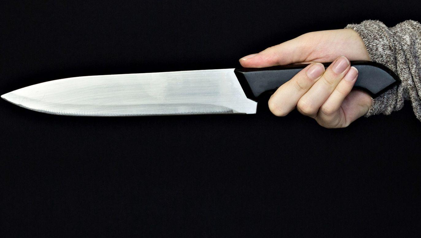 Oskarżona zapewniała, nie chciała zrobić mężczyźnie krzywdy (fot. Shutterstock/HENADZI PECHAN)