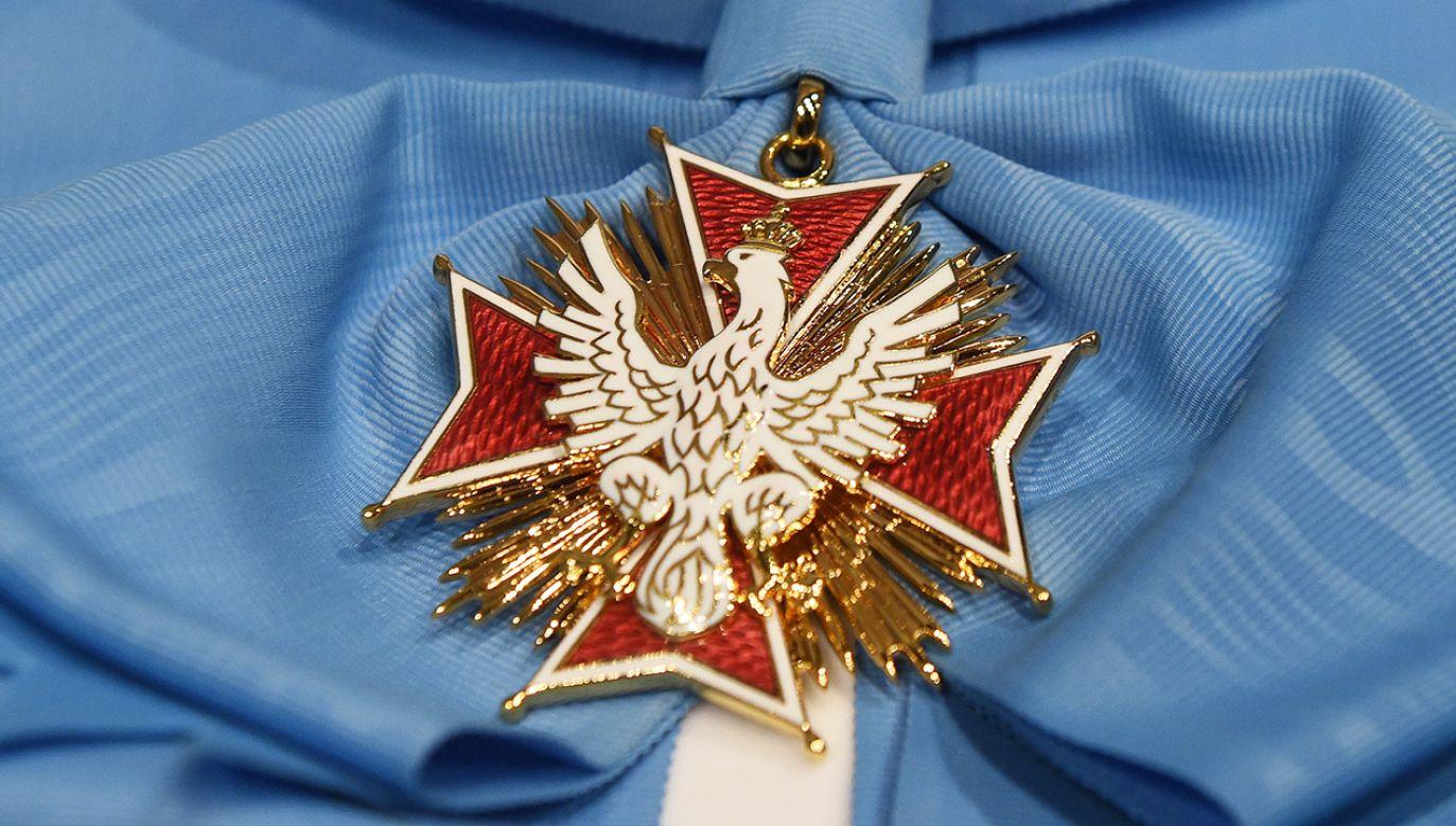 Prezydent wręczył państwowe odznaczenia (fot. arch.PAP/Radek Pietruszka)
