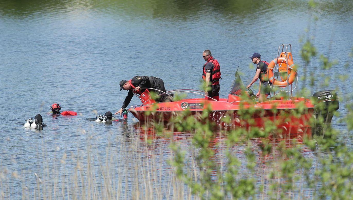 Ciało odnaleziono po kilku godzinach poszukiwań (fot. PAP/Tomasz Waszczuk, zdjęcie ilustracyjne)