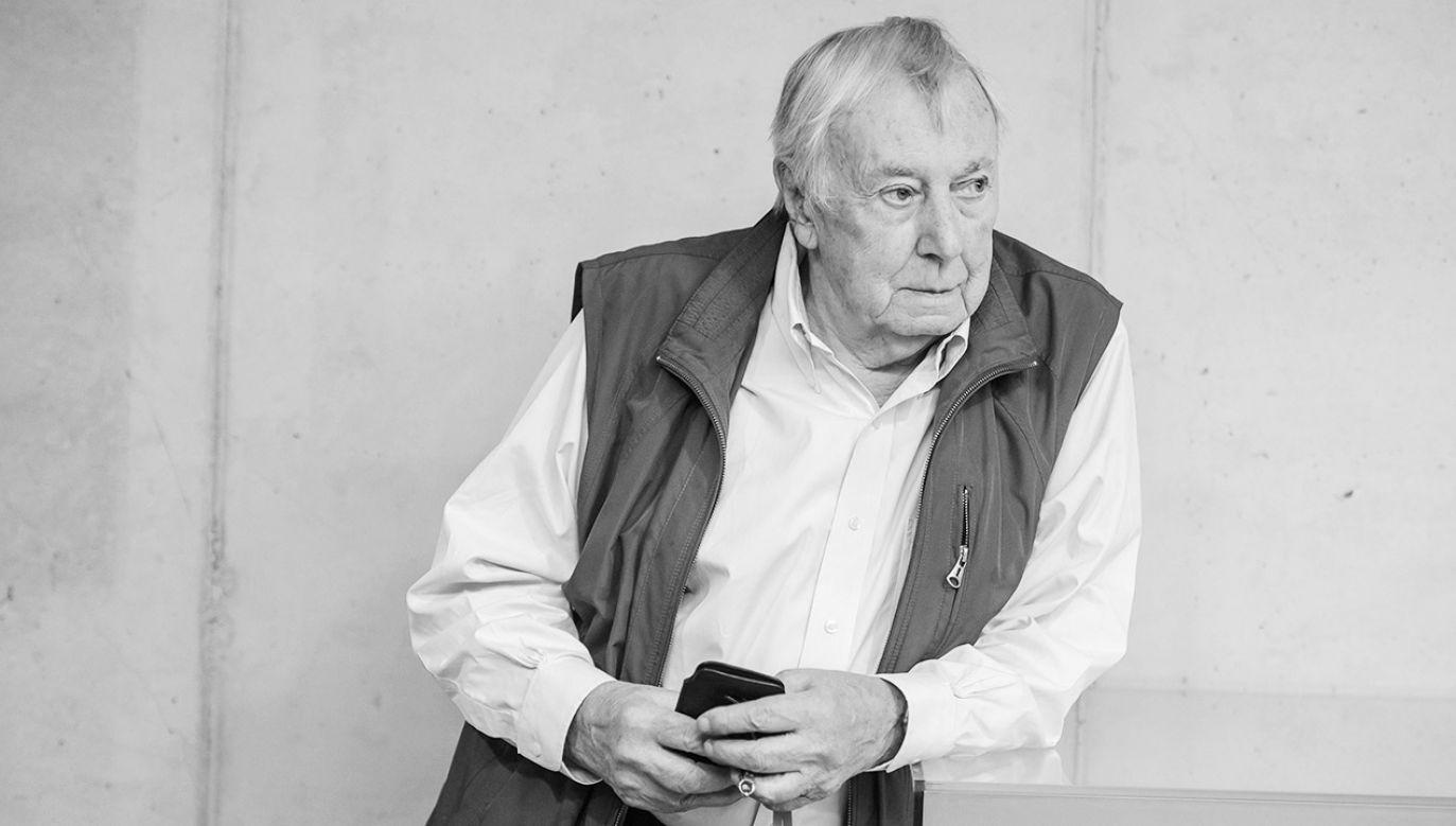Rosław Szaybo był współtwórcą tak zwanej Polskiej Szkoły Plakatu (fot. arch.PAP/Wojciech Pacewicz)