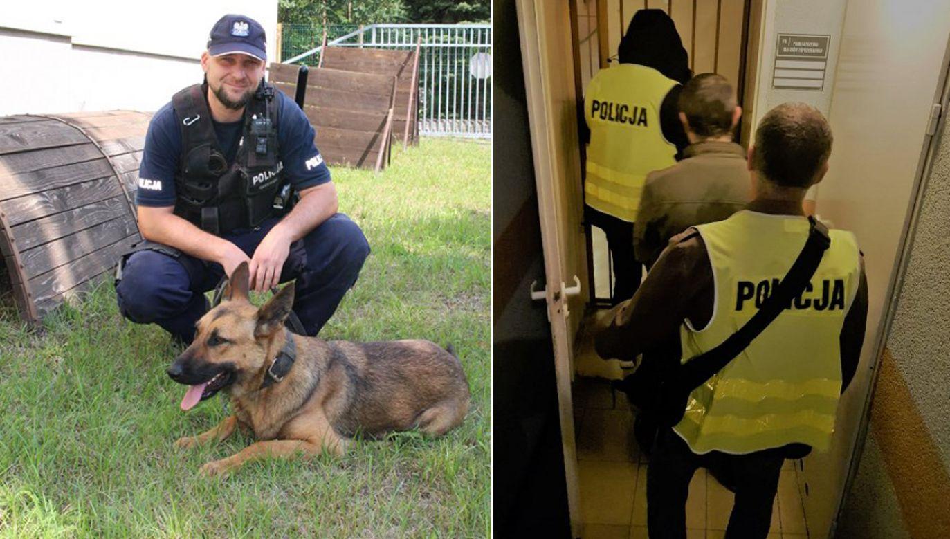 Mężczyzna dopuścił się czynów w warunkach recydywy (fot. kedzierzyn-kozle.policja.gov.pl)