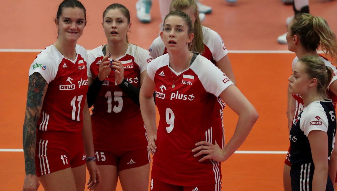 Malwina Smarzek, Martyna Grajber i Magdalena Stysiak (fot. FIVB)