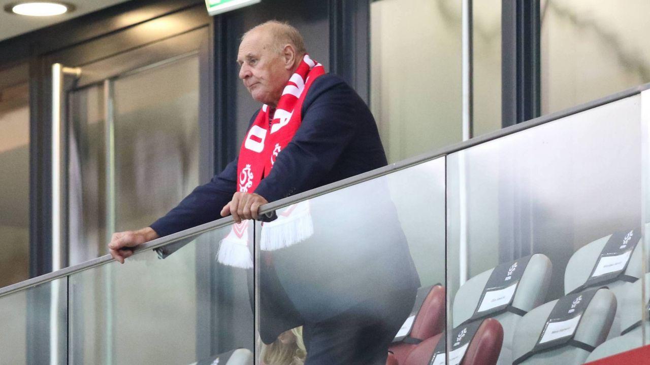 Były bramkarz piłkarskiej reprezentacji Polski Jan Tomaszewski (fot. PAP/Leszek Szymański)